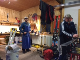 Ski tuning leasons with coach