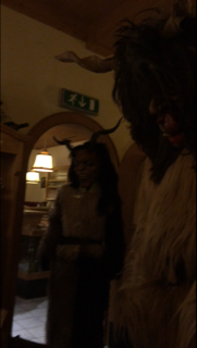 Krampus coming for the naughty children!