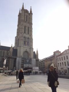 Gent, Belgium with Charlotte