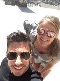 Selfie time in El Retiro Park